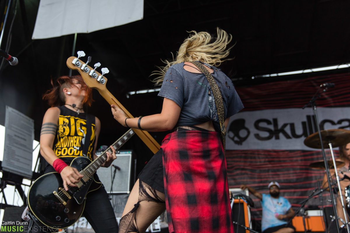 Gallery: Barb Wire Dolls at Warped Tour, Mansfield, MA 7/12/17 ...