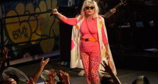 Debbie Harry of Blondie at House of Vans