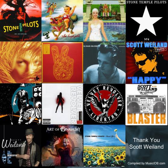 Scott Weiland Discography