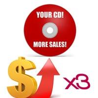 Ways To Triple CD Sales