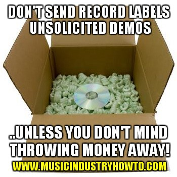 Should you send unsolicited demos to record labels music industry uncolicited demos fandeluxe Choice Image