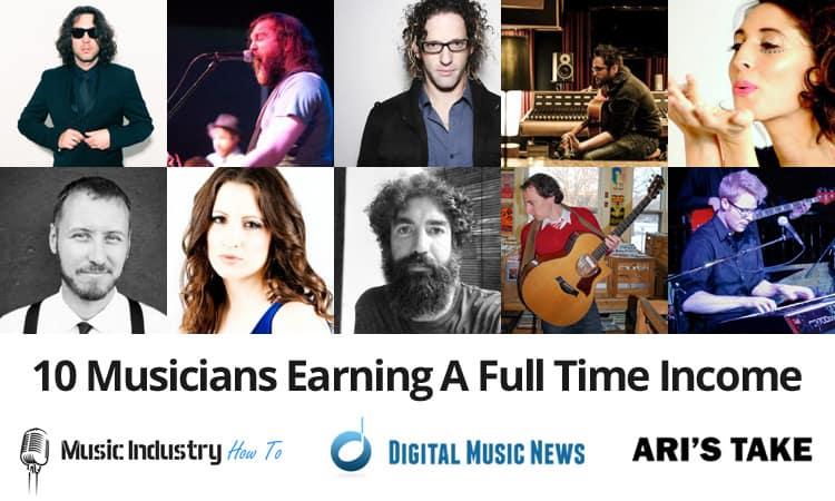 10 full time musicians