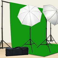 Green screen for music videos