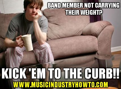 Band Member not carrying weight