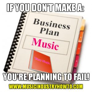 Music Business Plan Meme