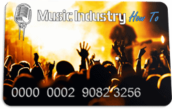 Music Industry How To Membership Card