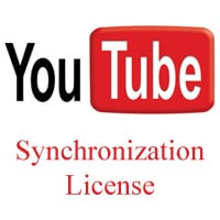 Sync license for Youtube