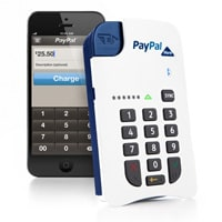 Paypal chip and pin credit card reader