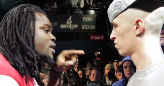 Shotty Horroh Vs Arsonal in the Don't Flop Battle Rap League