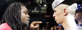 Shotty Horroh Vs Arsonal In The Dont Flop Rap Battle League