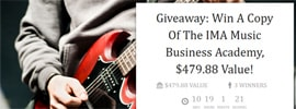 Closed – Competition, Win A Copy Of The World's Best Music Business Course*