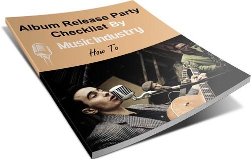 Album Release Party Checklist ebook