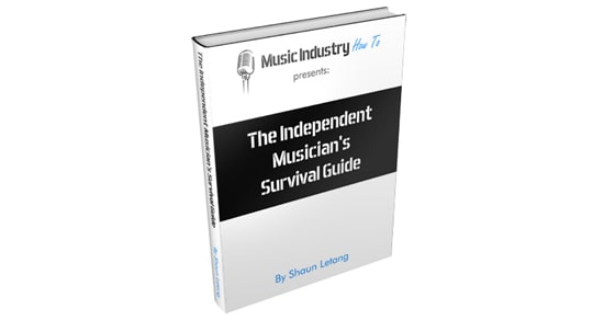 Music business questionnaire and free ebook
