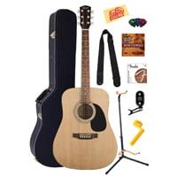 2 Fender Squier Acoustic Guitar Bundle