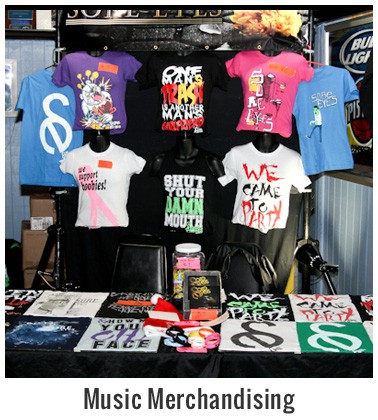 Category Music Merchandising