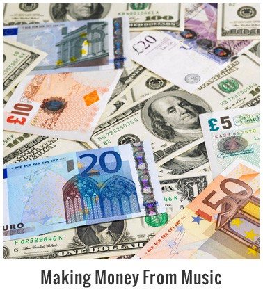 Category Making Money From Music