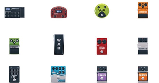 How To Order Your Guitar Effects Pedals For The Best Sound Possible