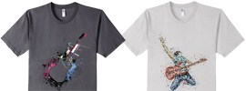 Top Quality Guitar T Shirts Reduced Price