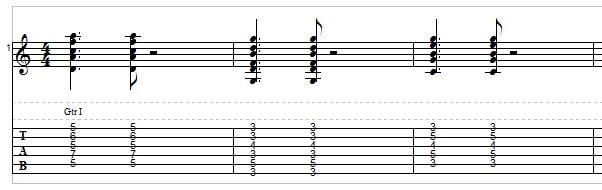 Jazz guitar - example 2