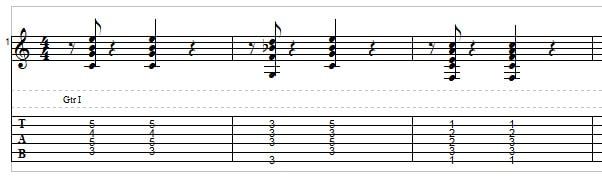 Jazz guitar - example 3