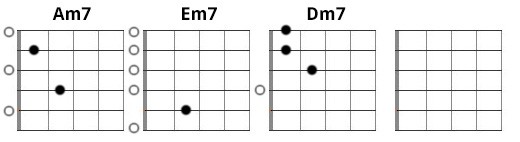 Example 3 - minor 7th chords
