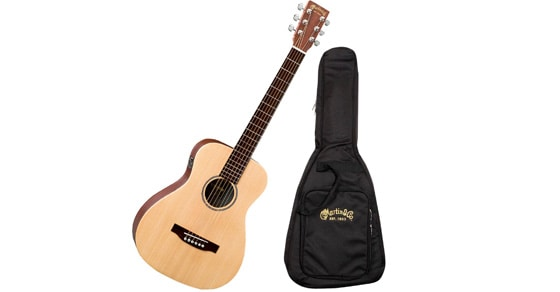 Buy the best travel instrument - the Little Martin Backpacker Guitar discounted