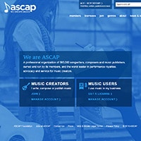 ASCAP royalty collection