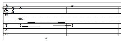Slide Guitar example 1