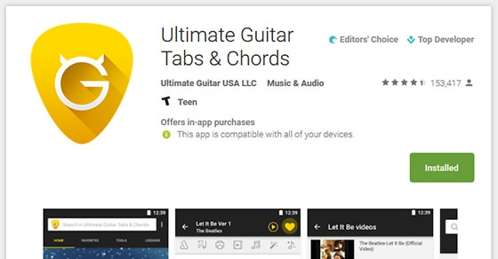 6 Best Android Apps For Guitarists And Guitar Players - Music ...