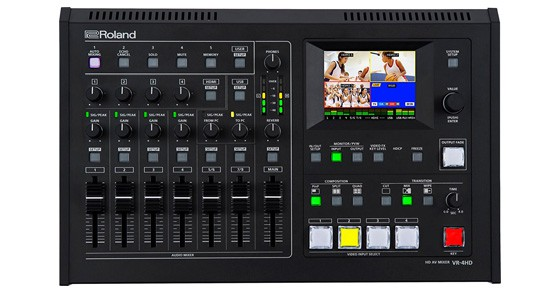 Roland VR-4HD All-In-One HD AV Mixer