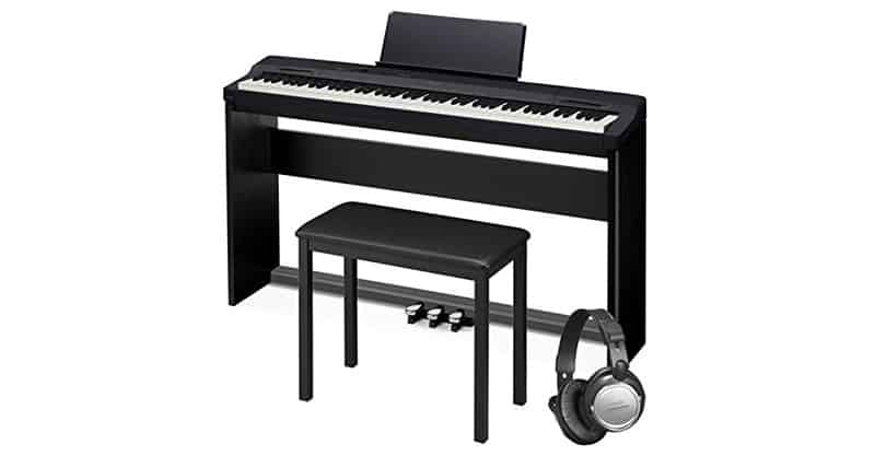 Casio PX160BK Black 88-Key Touch Sensitive Privia Digital Piano