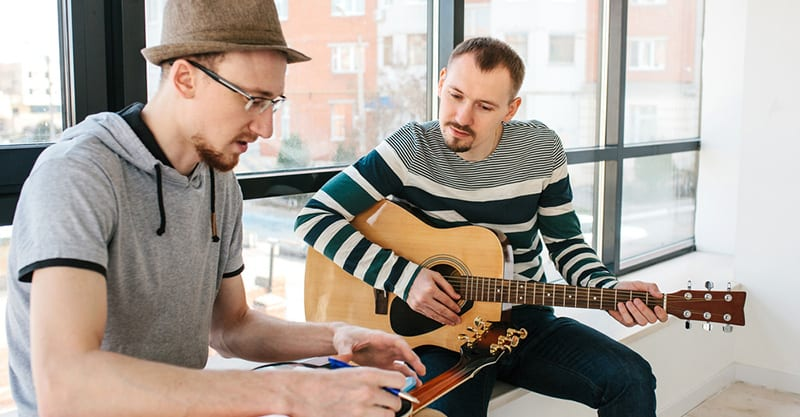 Marketing yourself as a guitar instructor