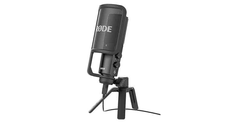 Best Studio Microphones: Rode NT-USB USB Condenser Microphone
