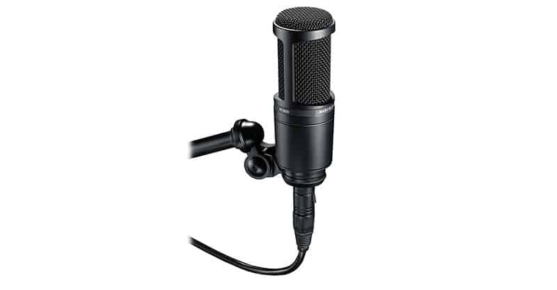 Audio-Technica AT2020 Cardioid Condenser Studio Microphone On A Budget