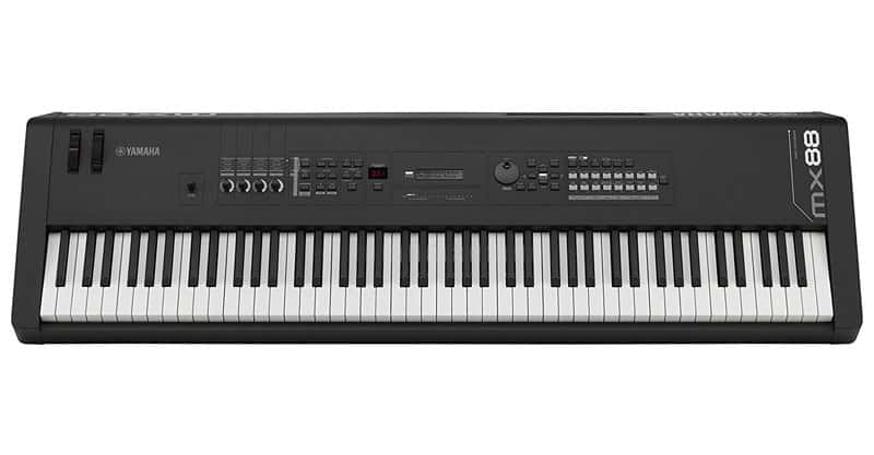 Yamaha MX88 keyboard discounted on sale