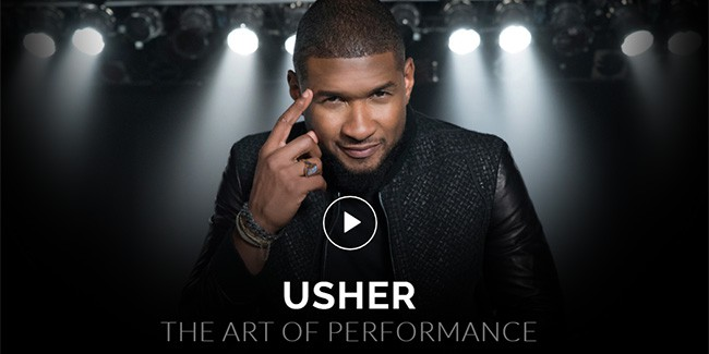 How to perform on stage like Usher