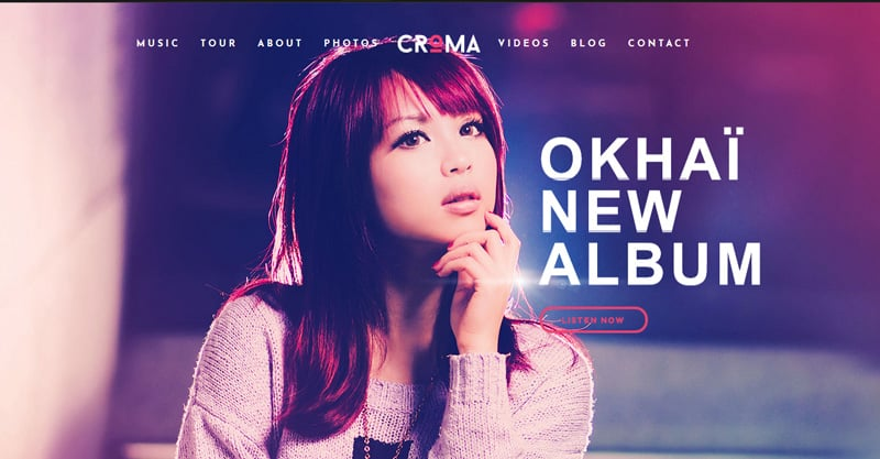 Croma Responsive Music WordPress Theme With Ajax And Continuous Playback