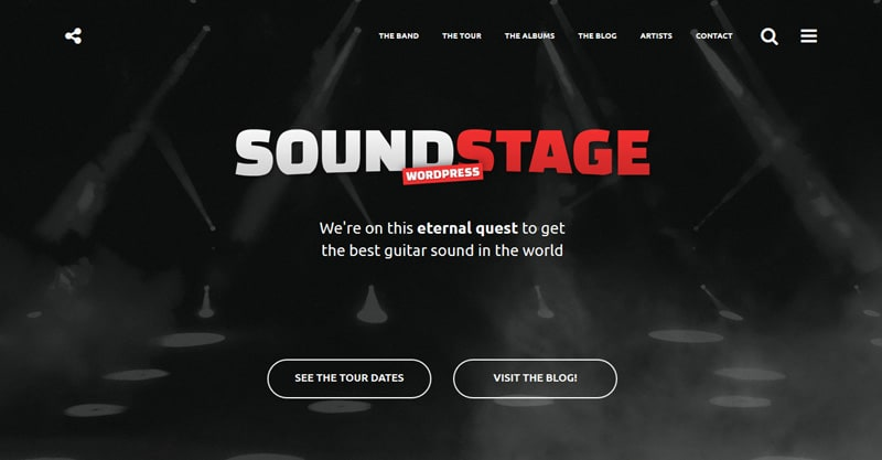 41 Best WordPress Themes For Musicians 2018 - Music Industry How To