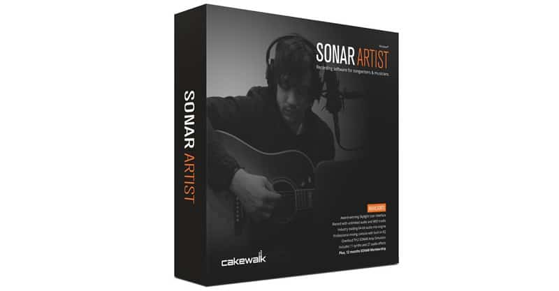 Digital Audio Workstation Software App Cakewalk SONAR