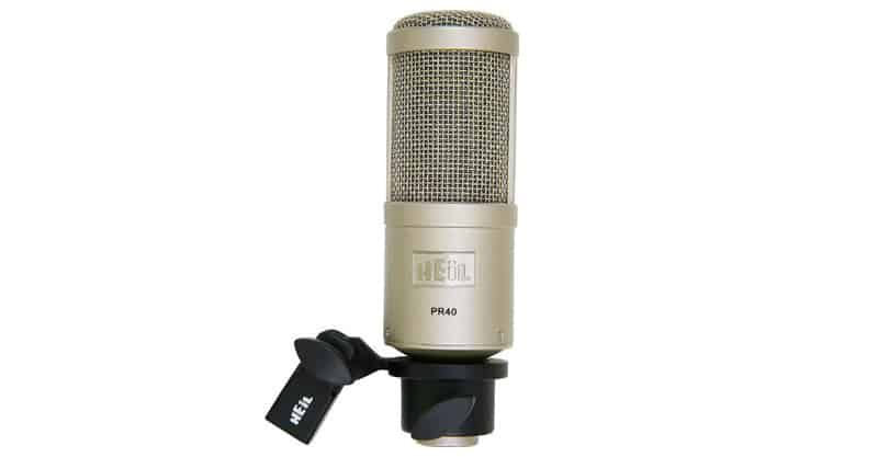 Heil PR-40 Dynamic Studio Recording Microphone For Musicians