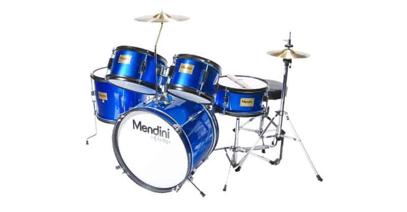 Mendini By Cecilio 16 Inch 5-Piece Complete Kids/Junior Drum Set