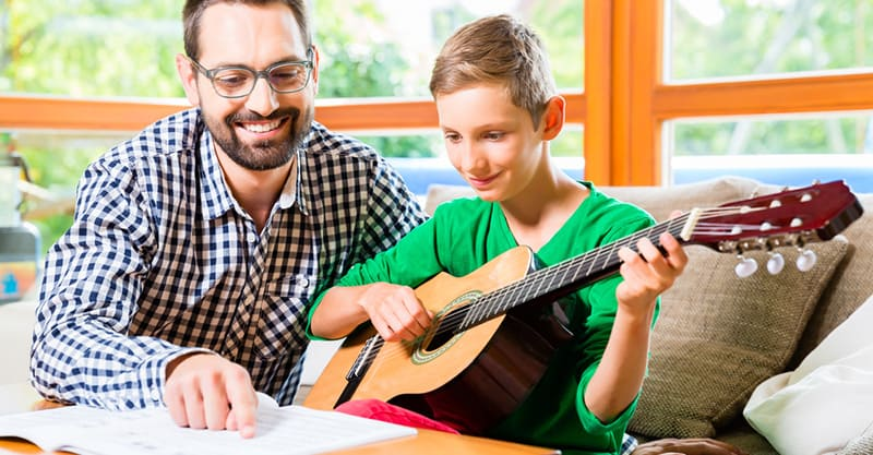How to do music instruction from home