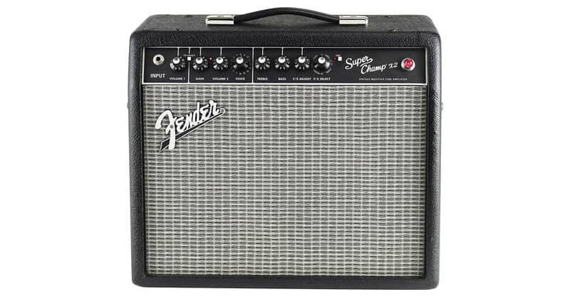 Fender Super Champ X2 15-Watt 1x10-Inch Guitar Combo