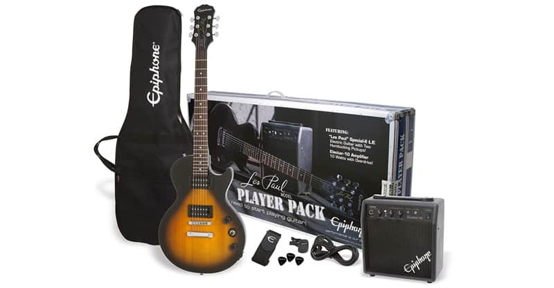 Epiphone PPEG-EGL1VSCH1 Les Paul Electric Guitar Player Package
