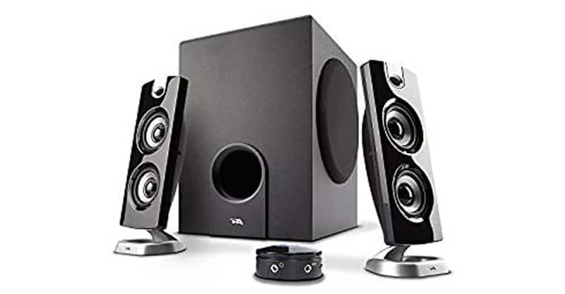Cyber Acoustics CA-3602FFP 2.1 Speaker Surround System