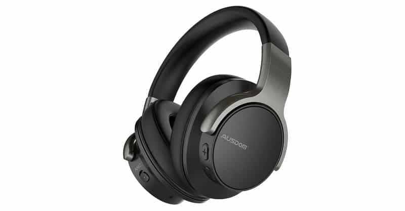 AUSDOM ANC8 Active Noise Cancelling Wireless Over-Ear Headset