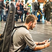 Can you take a guitar on an airplane
