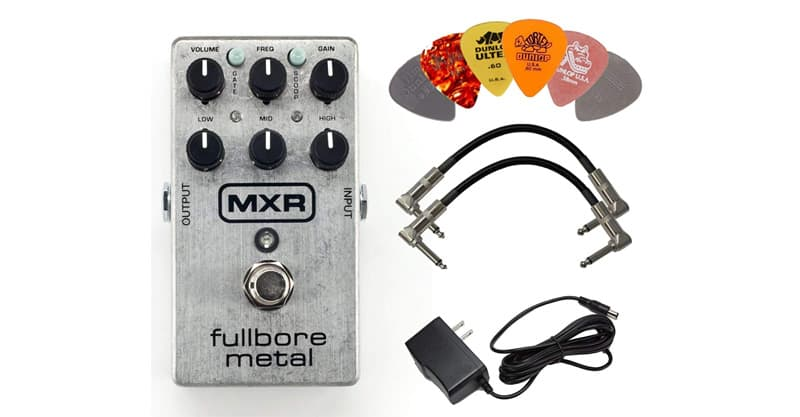 Dunlop MXR M116 Fullbore Metal Distortion Guitar Pedal