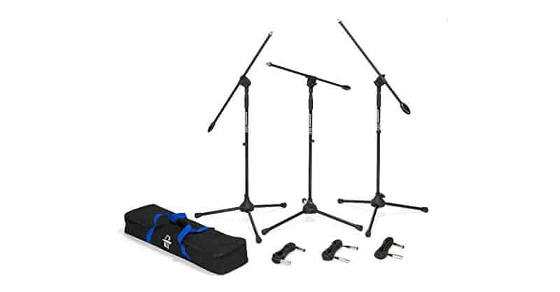 Samson BL3VP Boom Stand And Cable (3-Pack)