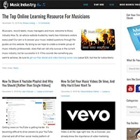 Top music business websites